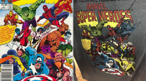 Note the replacement of X-Men and Fantastic Four members with.....more Avengers